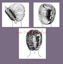 خطوات تسريح الشعر القصير