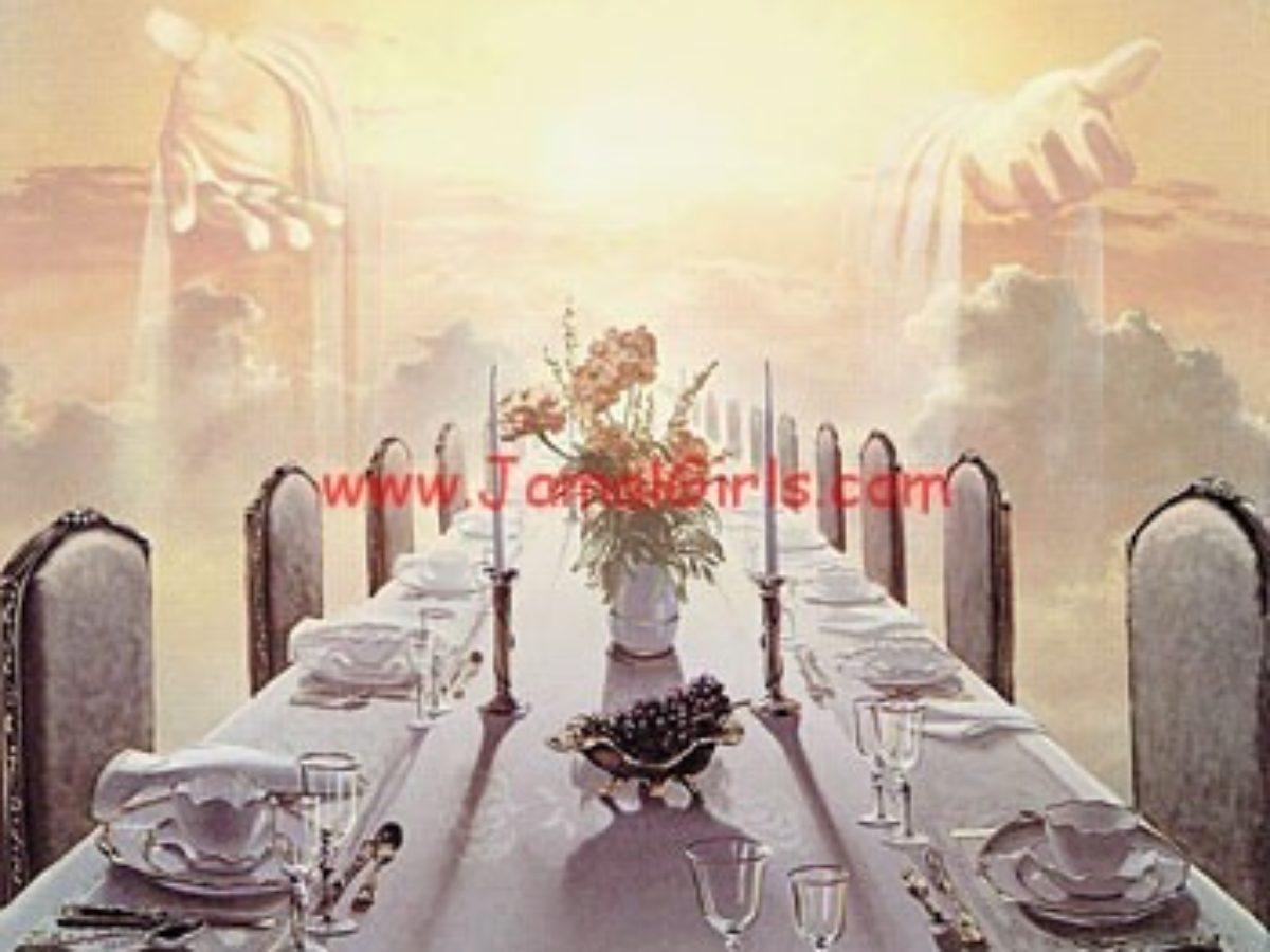 فن اتيكيت تحضير مائدة الطعام العامة