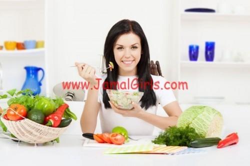 نظام غذائي صحي لإعادة الحيوية للبشرة الجافة