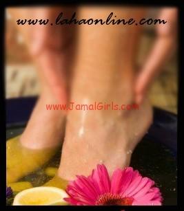 طريقة العناية باظافر القدمين ونظافتهما