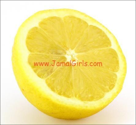 الليمون لسواد الركب وتفتيحها وعلاجها