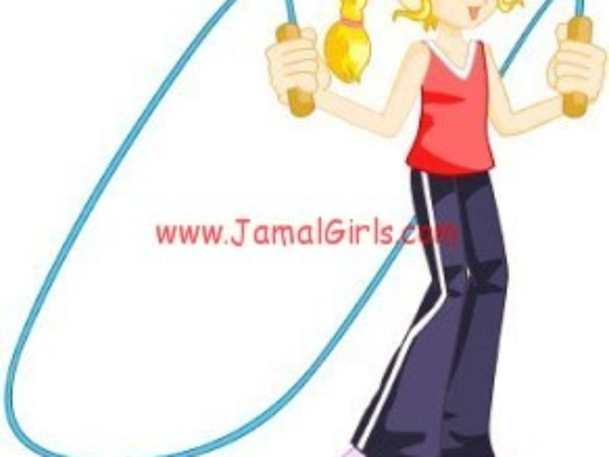 رياضة نط الحبلة لرشاقة الفتيات