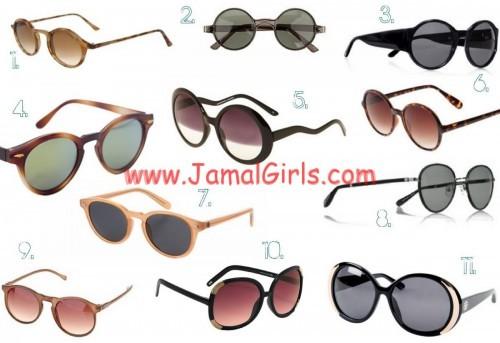 النظارات الشمسية الملائمة للوجه