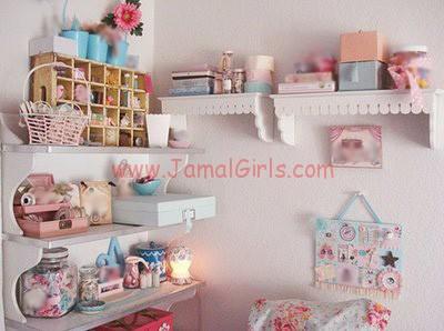 طرق مبتكرة لترتيب اغراض غرفة النوم