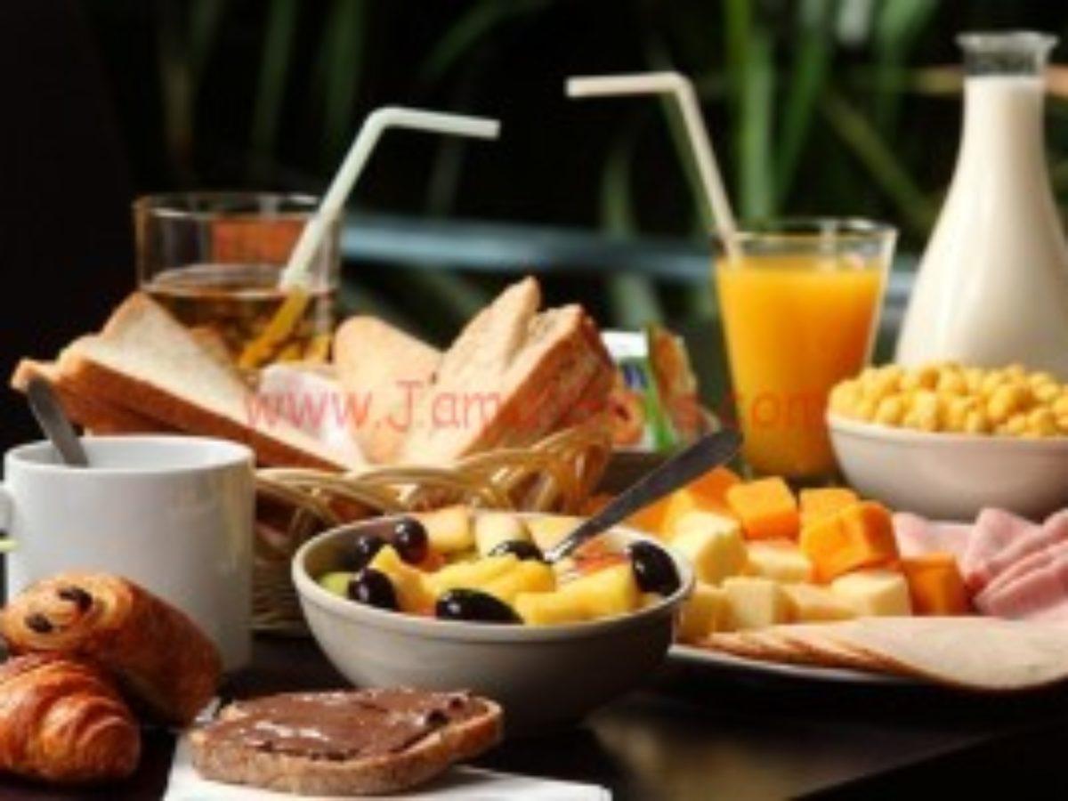 وجبة فطور الصباح الصحية