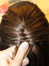 طريقة تصفيف الشعر الطويل