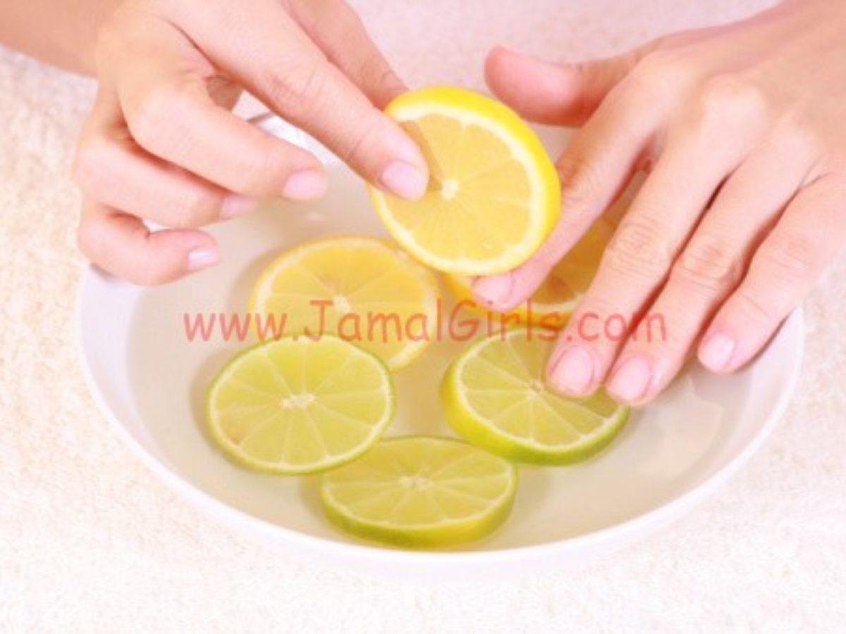 ترطيب وتبيض اليدين وإطالة الأظافر