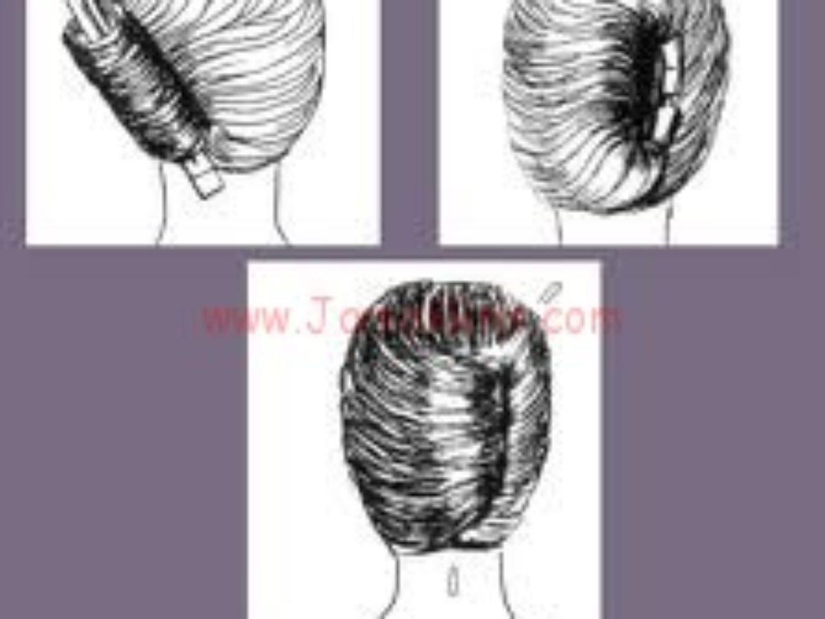 طريقة تصفيف الشعر القصير